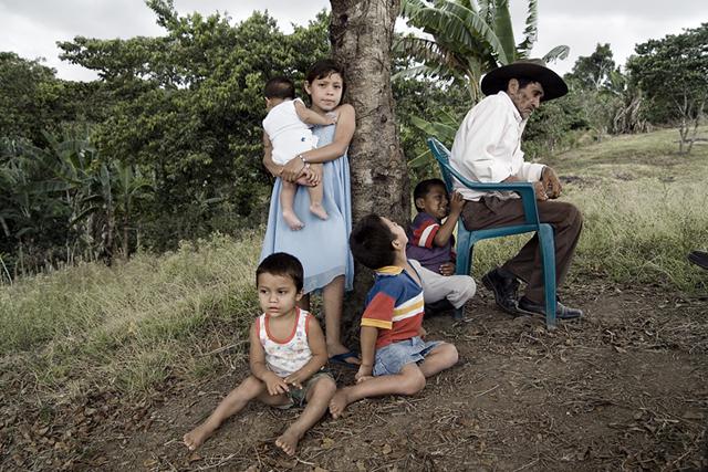Roberto Daniel Gonzalez and Family, Asturias, Nicaragua
