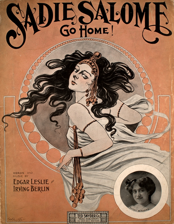 salome sheet music