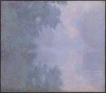 Claude Monet (French 1840-1926), Morning on the Seine, Giverny (Matinée sur la Seine), 1897, oil on canvas ,Bequest of Miss Susan Dwight Bliss ,AC 1966.48