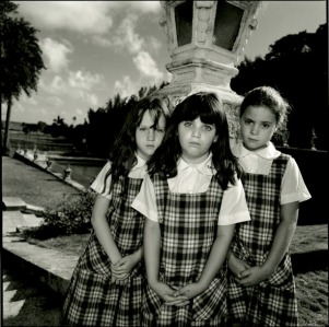 Mary Ellen Mark (American, born 1941), Three Girls in Plaid, 10/1086, 1986, Gelatin silver print, AC 1993.53.10, Gift of Stanley and Diane Person