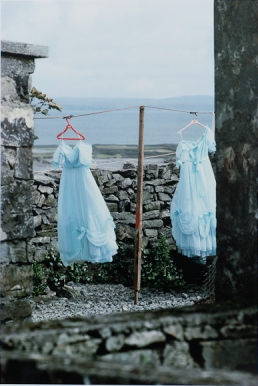Alen MacWeeney, Irish (born 1939), Bridesmaids Dresses, Aran Islands, 1985, printed later, Photograph Endura c-print, AC 2009.224.1, Gift of Loretta Ippolito Zetterstrom (Class of 1985) and Erik Zetterstrom