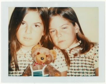 Andy Warhol (American, 1928–1987), Robin and Abby Weisman, 1977 August, Large Format Polaroid photograph, MH 2008.3.91, Gift of The Andy Warhol Foundation for the Visual Arts