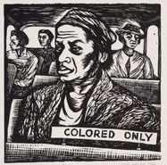 "Elizabeth Catlett (American and Mexican, 1915-2012). ""I Have Special Reservations,"" 1946. Linoleum cut. Leslie J. Garfield Fund, 241.1991. Museum of Modern Art."