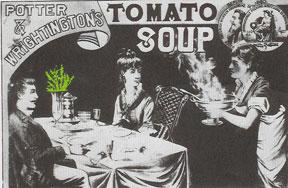 Tomato soup ad