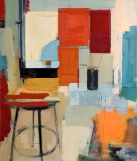 Peri Schwartz. American (1951- ). Painting, 2015.