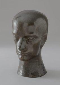 "Raymond Duchamp-Villon (French, 1876-1918). ""Baudelaire,"" 1911. Bronze. The Museum of Modern Art, 5.1960."
